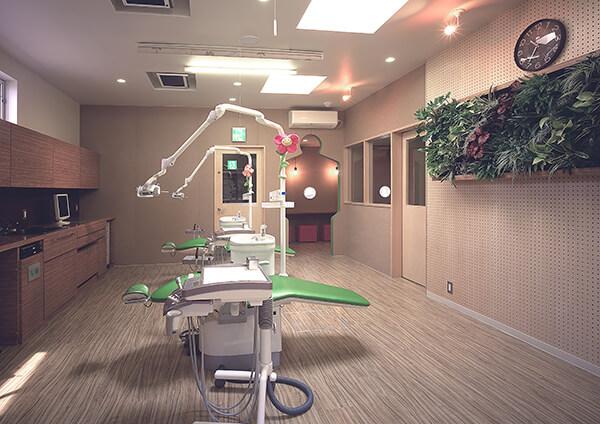 第二診療室(ユニット4台)