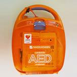 こだわり7  AED(自動体外除細動器)