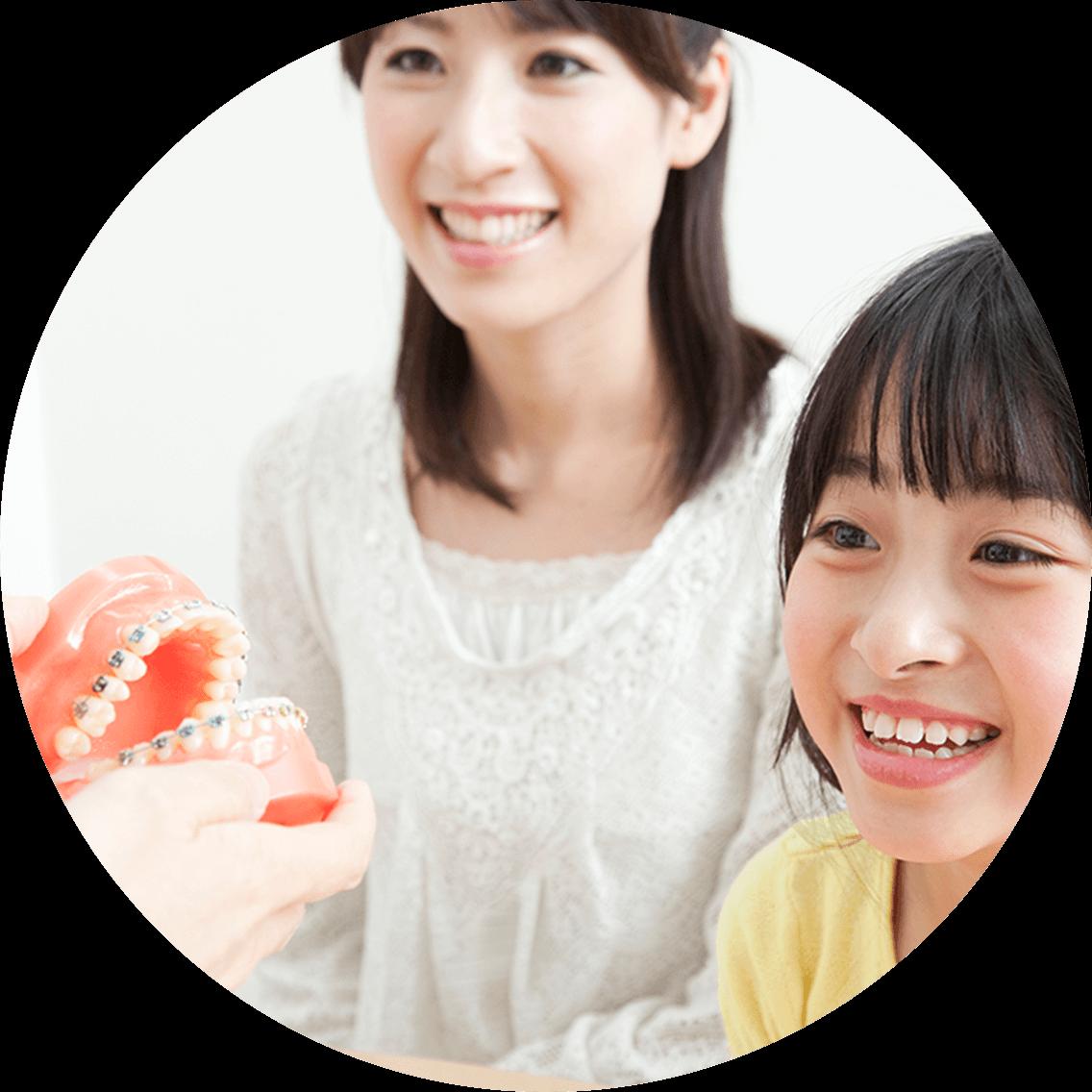 お子さまの治療と予防