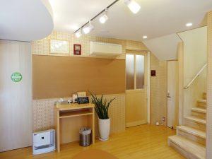 1F 診療室入口