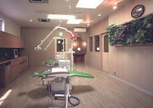 1F 第二診療室・カウンセリングルーム(ユニット4台)