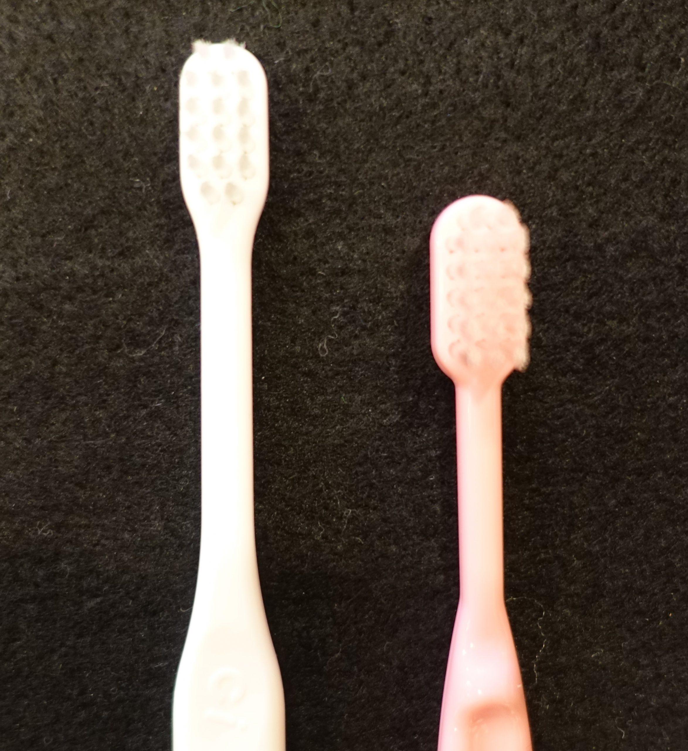歯ブラシの選び方~仕上げ磨き用~