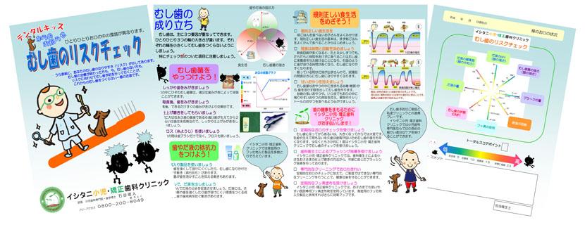 イシタニ小児・矯正歯科クリニック むし歯のリスクチェック(カリエスチェック)